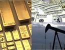 Giá dầu mỏ và giá vàng trên thế giới tiếp tục giảm