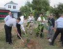 Công ty Cổ phần Xăng dầu Dầu khí Hà Nội (PV OIL Hà Nội) tổ chức Tết trồng cây tại Kho Xăng dầu Bắc Giang nhân dịp đầu Xuân Giáp Ngọ