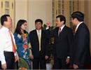 Chủ tịch nước Trương Tấn Sang gặp mặt người lao động Dầu khí tiêu biểu