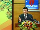 Chủ tịch nước Trương Tấn Sang thăm và chúc tết Tập đoàn Dầu khí Việt Nam