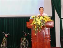 PV OIL tặng xe đạp chuyên dụng phục vụ tuần tra cho CA Thành phố Cần Thơ