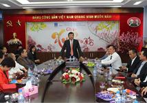 PV OIL Hà Nội Gặp gỡ và chúc Tết nhân dịp đầu Xuân Bính Thân