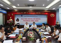 ĐẠI HỘI ĐỒNG CỔ ĐÔNG THƯỜNG NIÊN NĂM 2020  CÔNG TY CỔ PHẦN XĂNG DẦU DẦU KHÍ HÀ NỘI